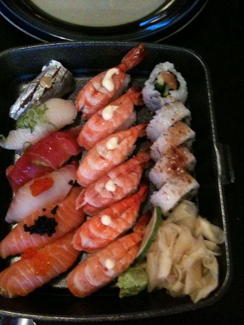 akki sushi meny