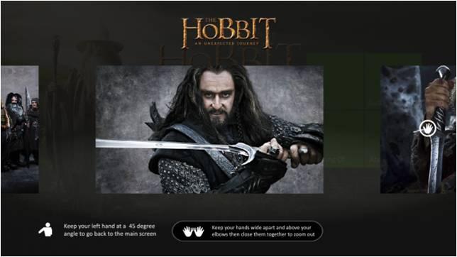 Interaktiv TV-annons i Xbox