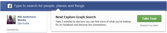 Facebook Graph Search Sverige