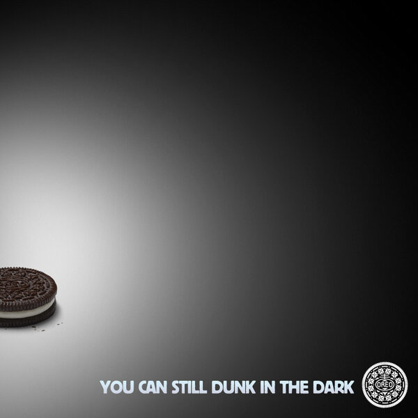 Oreo 2013 superbowl annons strmavbrott