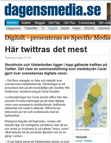 twitterkartan dagens media