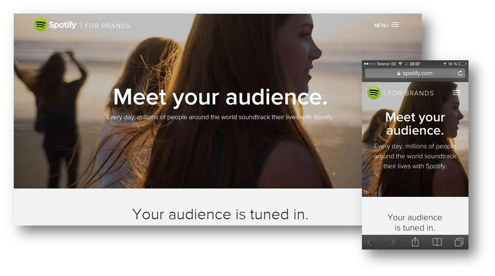 Spotify bjuder på insikter och inspiration